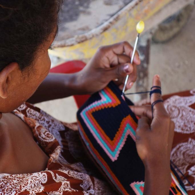 Wayuu Mochila handgemacht